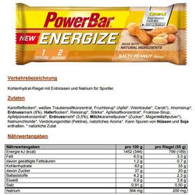 PowerBar New Energize Bar Box 25x55g Salty Peanut